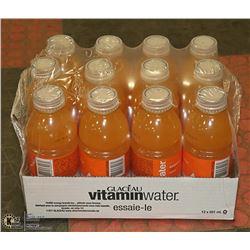 CASE OF DIET ORANGE VITAMIN WATER PAST BEST BEFORE