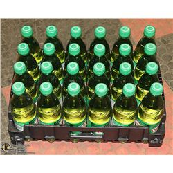 FLAT WITH 24 BOTTLES CANADA DRY GINGERALE PAST