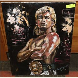 """26"""" X 30"""" CANADIAN BOXING CHAMP DONNY LALONDE"""