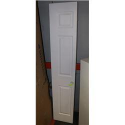 """WHITE BIFOLD DOOR 78 3/4"""" HEIGHT"""