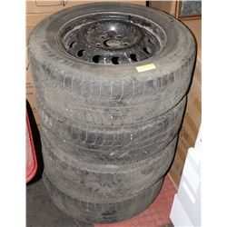 SET OF 4 TIRES 225 160R/16