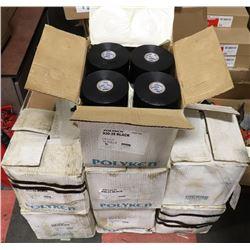 7 BOXES OF POLYKIN PIP WRAP BOXES