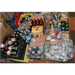 PALLET OF ASSORTED BEVERAGES MAY BE PAST