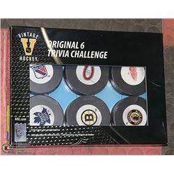 VINTAGE HOCKEY ORIGINAL TRIVIA CHALLENGE