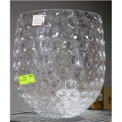 HANDMADE GLASS CENTRE BOWL
