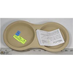 PAMPERED CHEF MICROWAVE EGG COOKER STONEWARE