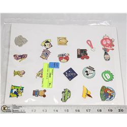 DISNEY PINS - SET OF 20