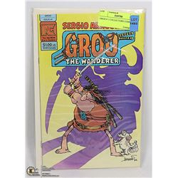GROO # 1 COLLECTORS COMIC