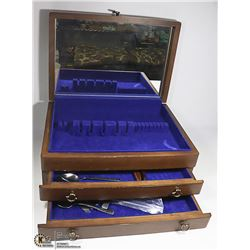 CUTLERY CASE AND CONTENTS