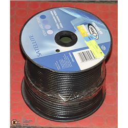 140 METERS OF RG6U COAXIAL CABLE NEW