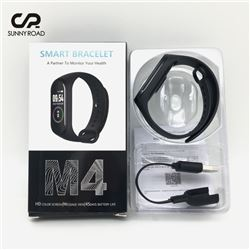 NEW M4 SMART HEALTH BRACELET WITH HD COLOR SCREEN