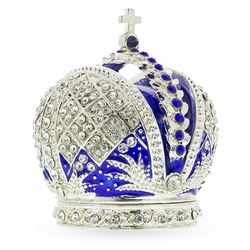 Russian Royal Crown Trinket Jewel Box