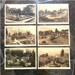 Set of Early 1900's Grand Tour Sepia Tone Travel Postcards, Ireland, Killarney House