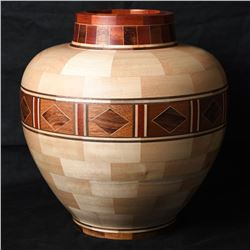 Hand Carved Wooden Bowl by Jeff Wimer