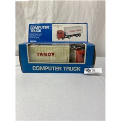 Radio Shack Tandy Computer Truck Toy With Box