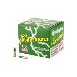 REM THNDRBT 22LR 40GR RN HS - 500 Rds