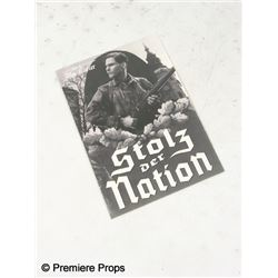 Inglourious Basterds Hero 'Stolz der Nation' Nations Pride Black & White Paper Program Movie Props