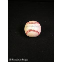 Douglas Fairbanks Jr. Signed Baseball