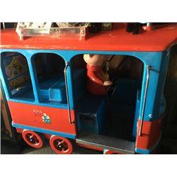Alvin And The Chipmunks Tram Kiddie Ride