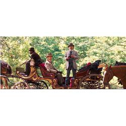 Django Unchained Calvin Candie (Leonardo DiCaprio) Hero Horse Drawn Carriage Movie Props