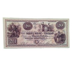 Django Screen Used Twenty Dollar Bank Note Movie Props