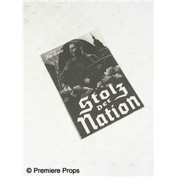 Inglourious Basterds 'Stolz der Nation' Nations Pride Paper Program