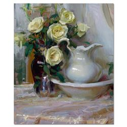 Dan Gerhartz,  French Lace  Limited Edition on Canvas, Numbered and Hand Signed with Letter of Authe
