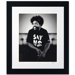 """Questlove"" Limited Edition Giclee by Rob Shanahan, Numbered and Hand Signed with COA. This piece co"