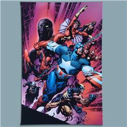 "Marvel Comics ""New Avengers #12"" Numbered Limited Edition Giclee on Canvas by Mike Deodato Jr. with"