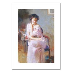 "Pino (1931-2010), ""Sublime Beauty"" Limited Edition on Canvas, Numbered and Hand Signed with Certific"