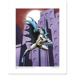 Batman Running  Numbered Limited Edition Giclee from DC Comics with Certificate of Authenticity.