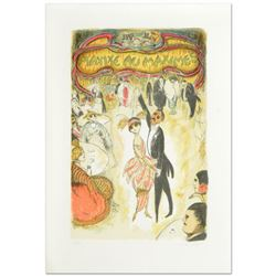 """Maxixe au Maximes"" Limited Edition Lithograph by Ed Plunkett, Numbered and Hand Signed by the Artis"