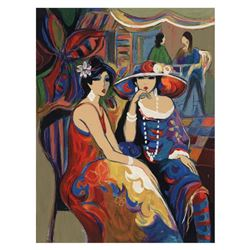 Isaac Maimon,  Friendship  Limited Edition Serigraph, Numbered and Hand Signed with Letter of Authen