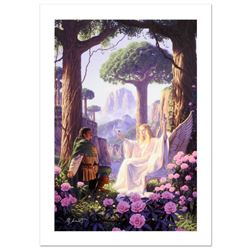 The Gift Of Galadriel  Limited Edition Giclee on Canvas by Greg Hildebrandt. Numbered and Hand Sign