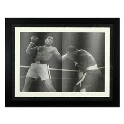 "Mr. Brainwash, ""Happy Birthday Champ"" Framed Limited Edition Silk Screen. Hand Signed and Numbered P"