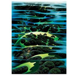 "Eyvind Earle (1916-2000), ""As Far As I Could See"" Limited Edition Serigraph on Paper; Numbered & Han"