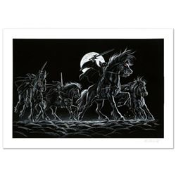 """""""Black Riders"""" Limited Edition Giclee by Greg Hildebrandt. Numbered and Hand Signed by the Artist. I"""