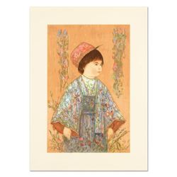 """Edna Hibel (1917-2014), """"Festival Day"""" Limited Edition Lithograph, Numbered and Hand Signed with Cer"""