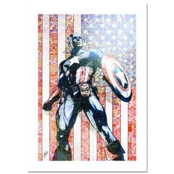 """Stan Lee Signed, """"Captain America Theater Of War: Ghosts of My Country #1"""" Numbered Marvel Comics Li"""