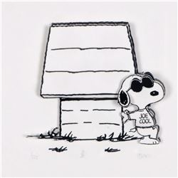 """Peanuts, """"Joe's Cool"""" Hand Numbered Limited Edition 3D Decoupage with Certificate of Authenticity."""