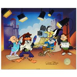 """Chuck Jones (1912-2002), """"Mark of Zero"""" Limited Edition Animation Cel with Hand Painted Color, Dated"""