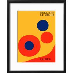 """Alexander Calder """"Composition I"""" Custom Framed Lithograph"""