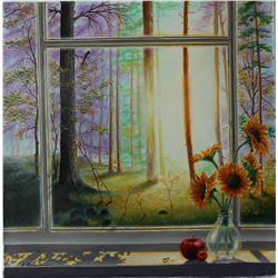 "Alexander Borewko- Original Oil on Canvas ""Heaven's View"""