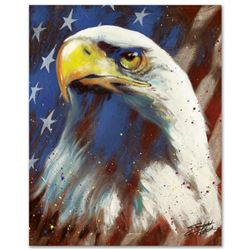 """""""Formatted America"""" Limited Edition Giclee on Canvas by Stephen Fishwick, Numbered and Signed. This"""