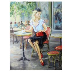 "Taras Sidan- Original Oil on Canvas ""Dandy"""