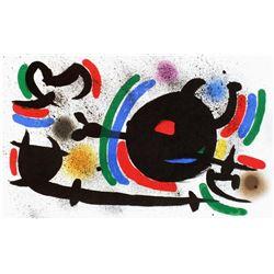 """Joan Miro- Lithograph """"Miro lithographe I-13"""""""