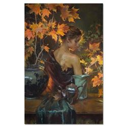 """Dan Gerhartz, """"October Glow"""" Limited Edition on Canvas, Numbered and Hand Signed with Letter of Auth"""