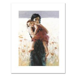 """Pino (1931-2010), """"Maternal Instincts"""" Limited Edition on Canvas, Numbered and Hand Signed with Cert"""