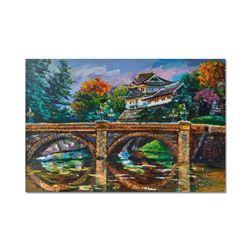 "Yana Rafael ""Scenic China"" Hand Signed Original Painting on Canvas with COA"