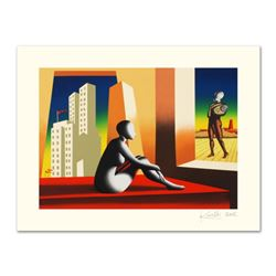 """Mark Kostabi, """"Windows Of Opportunity"""" Limited Edition Serigraph, Numbered and Hand Signed with Cert"""